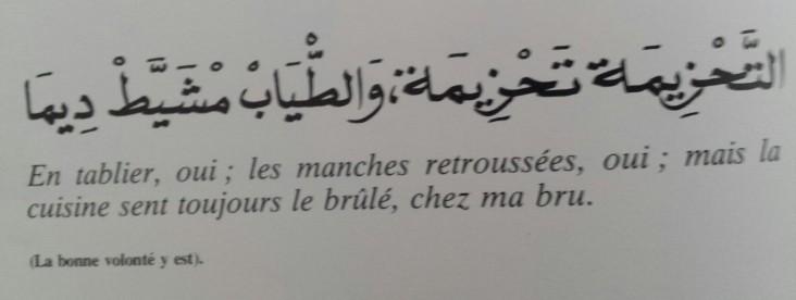 Proverbes marocains (13)