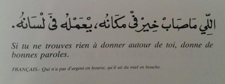Proverbes marocains (14)