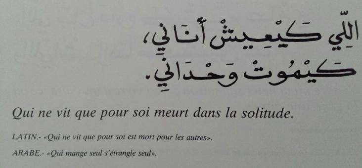 Proverbes marocains (7)