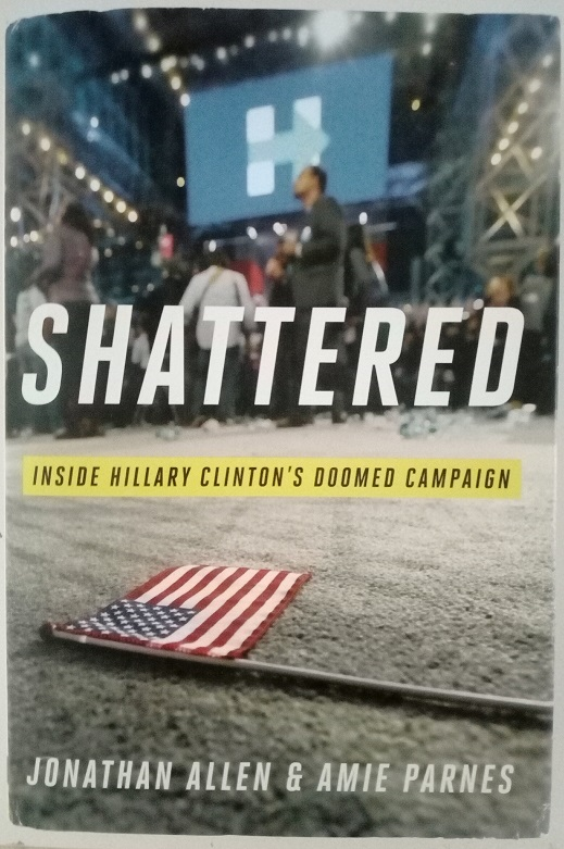 shattered book livre hillary clinton